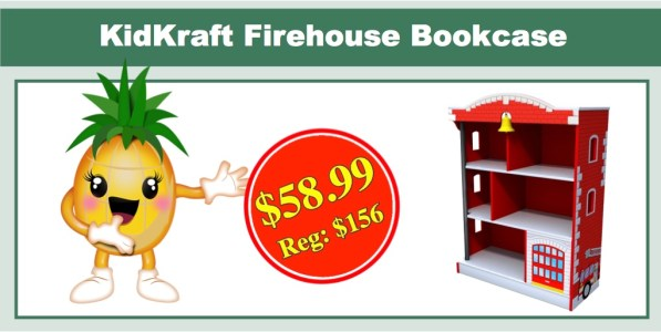 Kidkraft Firehouse Bookcase ONLY 5899 Reg 156