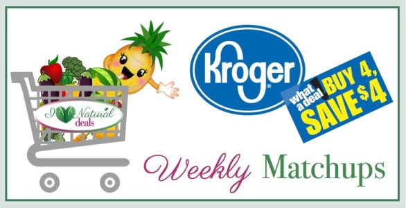 Kroger Buy 4 Save 4 Weekly Matchups