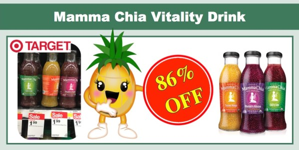 Mamma Chia Vitality Drink Coupon Deal