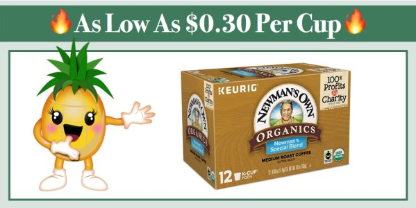 Newman's Own Organics Keurig K-Cup 72 Pods