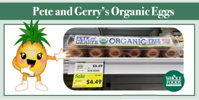 Pete and Gerry's Organic Eggs Coupon Deal