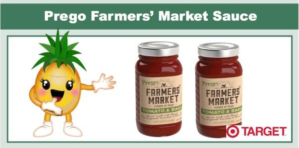 Prego Farmers' Market Sauce Coupon
