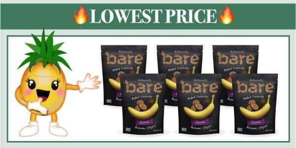 Bare Natural Banana Chips Cocoa