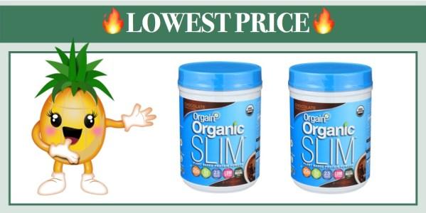 Orgain Organic Slim Weight Loss Powder