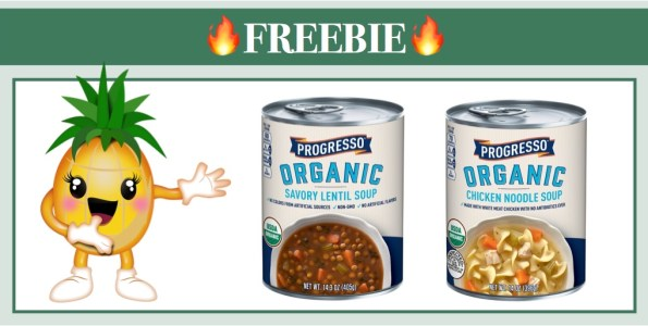 Progresso Organic Soup Coupon