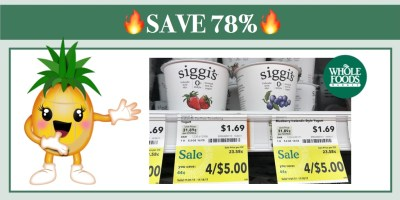 Siggi's Yogurt Coupon Deal