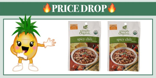 Simply Organic Spicy Chili Seasoning Mix