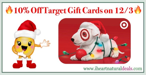 10% off Target Gift Cards