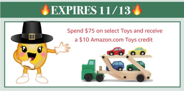 Receive $10 Amazon Toys Credit wyb $75+ - Includes Green Toys, Melissa & Doug and more!