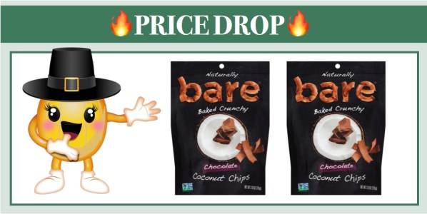 Bare Chocolate Coconut Chips