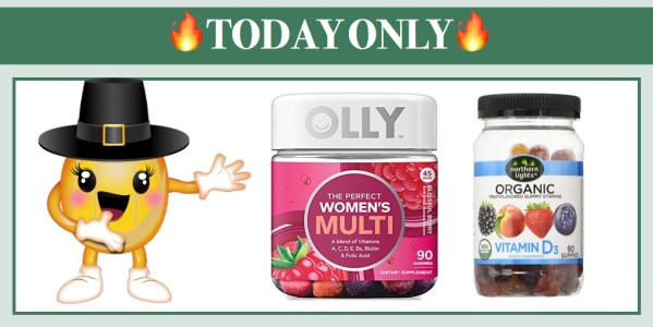 Save over 50% on Gummy Vitamins Including OLLY, Northern Lights and more!