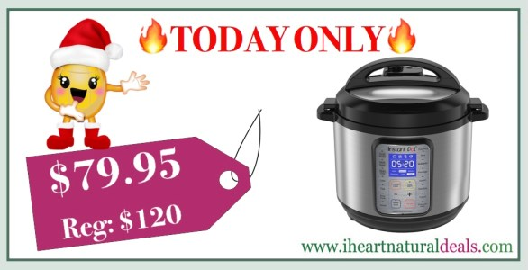 Instant Pot DUO Plus 6 Qt 9-in-1 Multi- Use Programmable Cooker