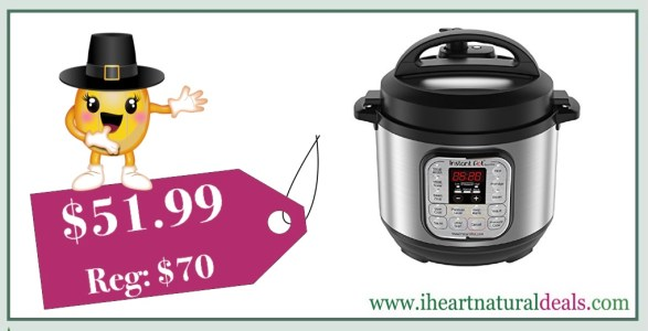 Instant Pot Duo Mini 3 Qt 7-in-1 Pressure Cooker