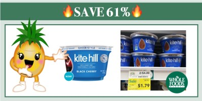 Kite Hill Yogurt Coupon Deal