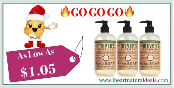 Mrs. Meyers Hand Soap Geranium