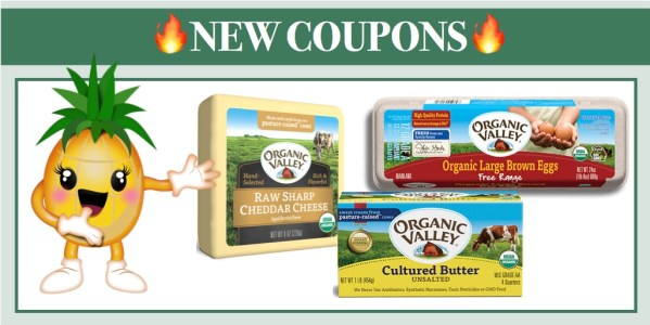 Organic Valley Eggs Coupon