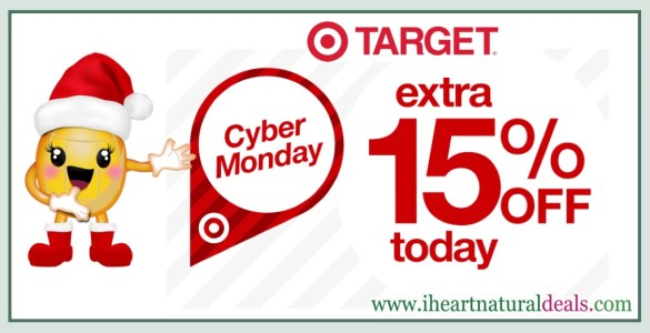 Target - Extra 15% Off Almost Everything Sitewide (Online Only)