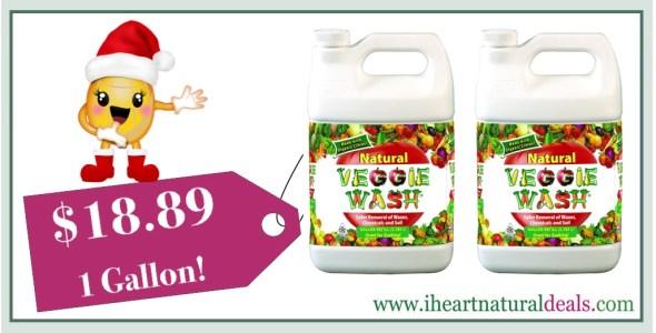 Veggie Wash All Natural Fruit and Vegetable Wash
