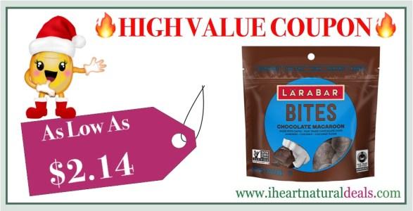 Larabar Bites Chocolate Macaroon 6 Pack