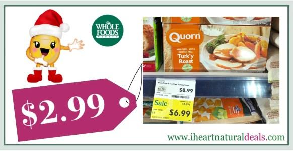Quorn Meatless & Soy-Free Turk'y Roast