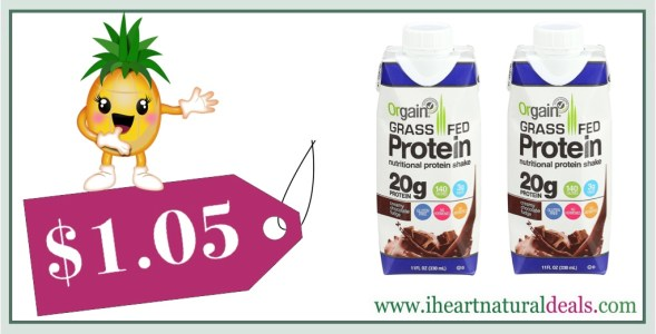 Orgain Grass Fed Protein Shake, Creamy Chocolate Fudge