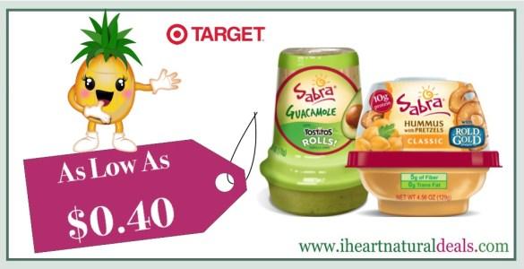 Sabra Snackers Guacamole or Hummus