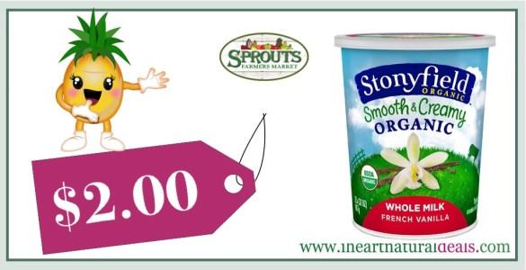 Stonyfield Organic Yogurt 32 oz