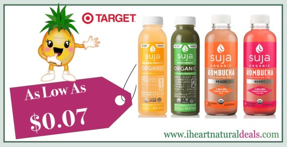Suja Organic Juice & Kombucha