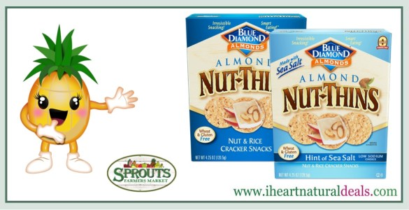 Blue Diamond Nut Thins Coupon Deal