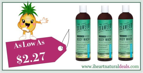 The Seaweed Bath Co. Body Wash Unscented