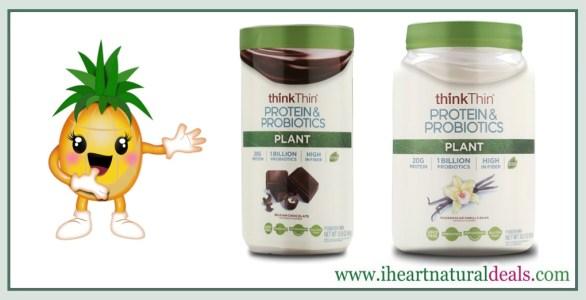 think thin vanilla protein powder