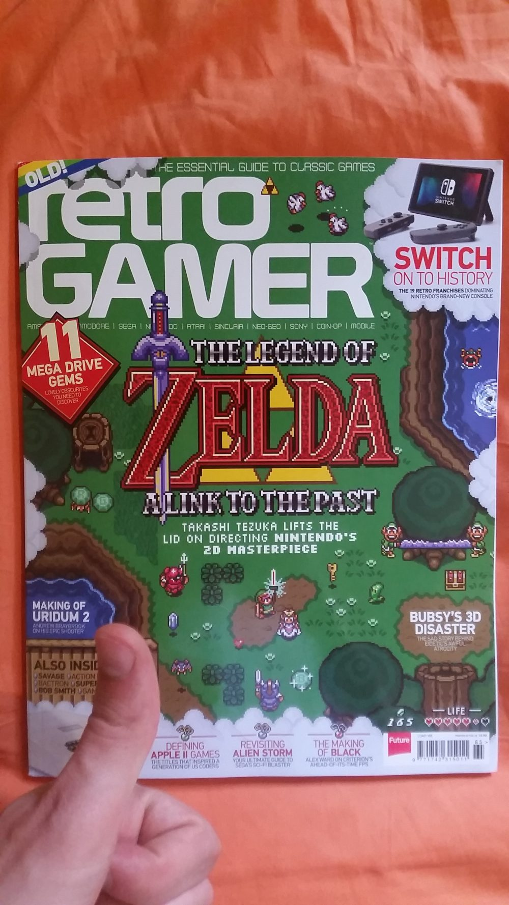 Freshly delivered! – Retro Gamer Issue #165