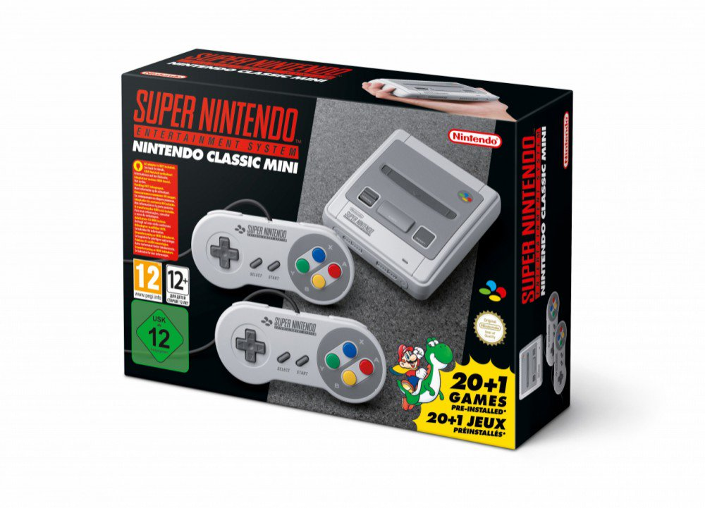 [Shut Up and take my Money!] Time for the SNES Mini