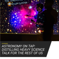 Astronomy on Tap: Happy Hour That Brings Science Down to Earth