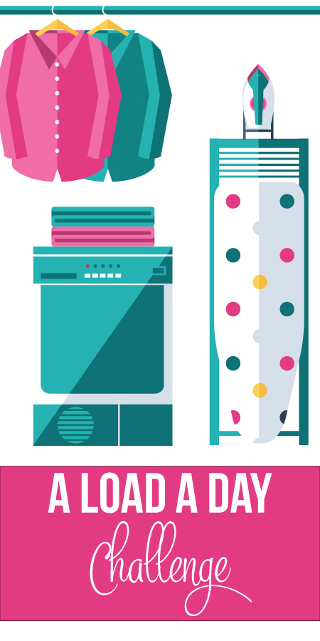 Load a Day Laundry Challenge from I Heart Planners [July Goals at High-Heeled Love]