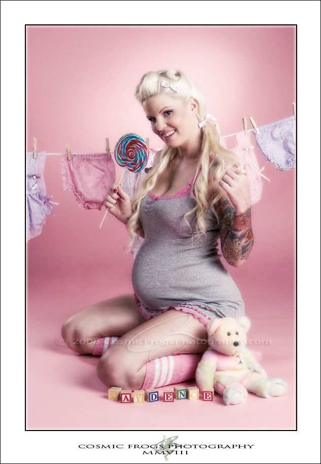pin up maternity idea