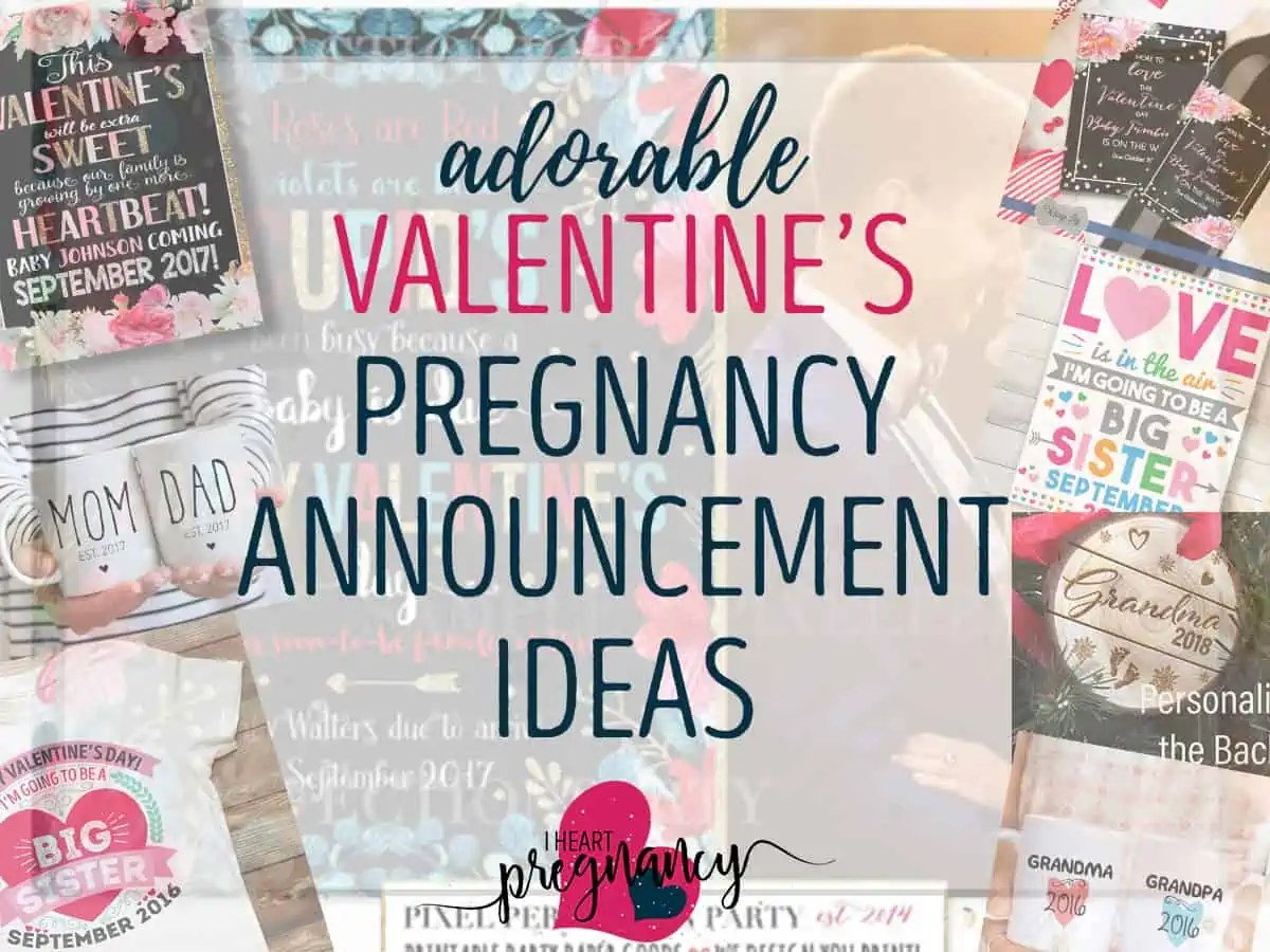Announce Your Pregnancy On Valentineu0027s Day With These Adorable Ideas
