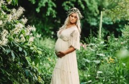 Rustic Baby Shower Dress