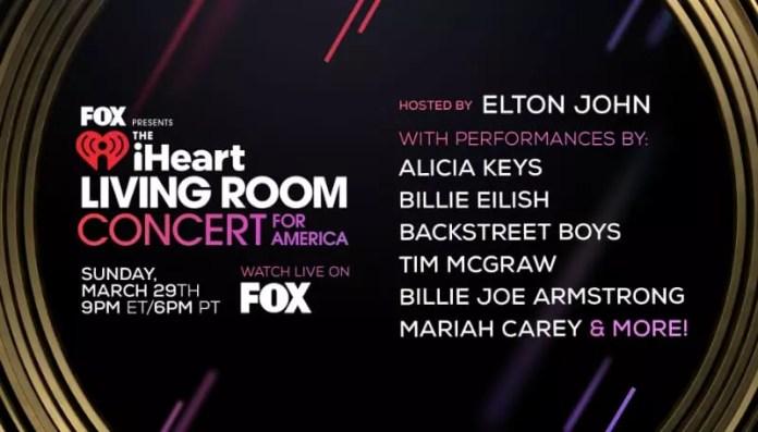 Resultado de imagen de Fox presenta el concierto de sala de estar iHeart para América.
