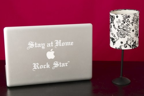 Stay at Home Rockstar decal sale