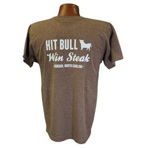 Durham Bulls Hit Bull, Win Steak shirt back by School House