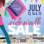 {Sale Alert} Cameron Village Sidewalk Sale this Weekend