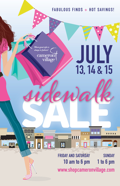 Cameron Village Summer Sidewalk Sale