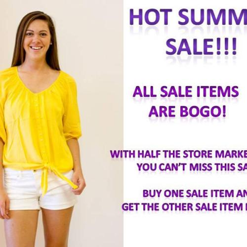 Clothes Hound BOGO summer sale