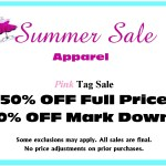 Summer apparel sale at Kristen's in Cary