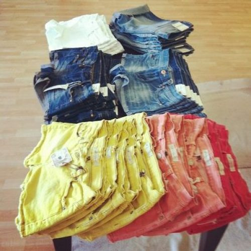 Shorts on sale at Clothes Hound in Raleigh