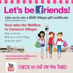 Chance to win a $500 gift certificate and new Wolfline stop at Cameron Village