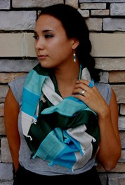 Save 20% on scarves at Beleza in September