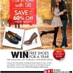 Win free shoes for a year from SRI!