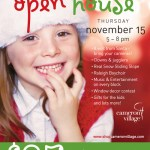{You're Invited} The Cameron Village Holiday Open House is Thursday!